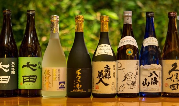 Sake, Wine, Beer, Cocktails