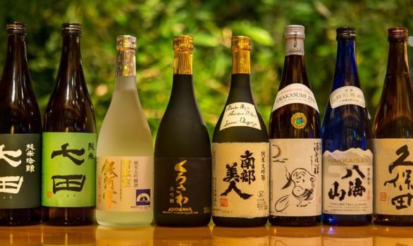 Sake, Wine, Beer, Cocktails