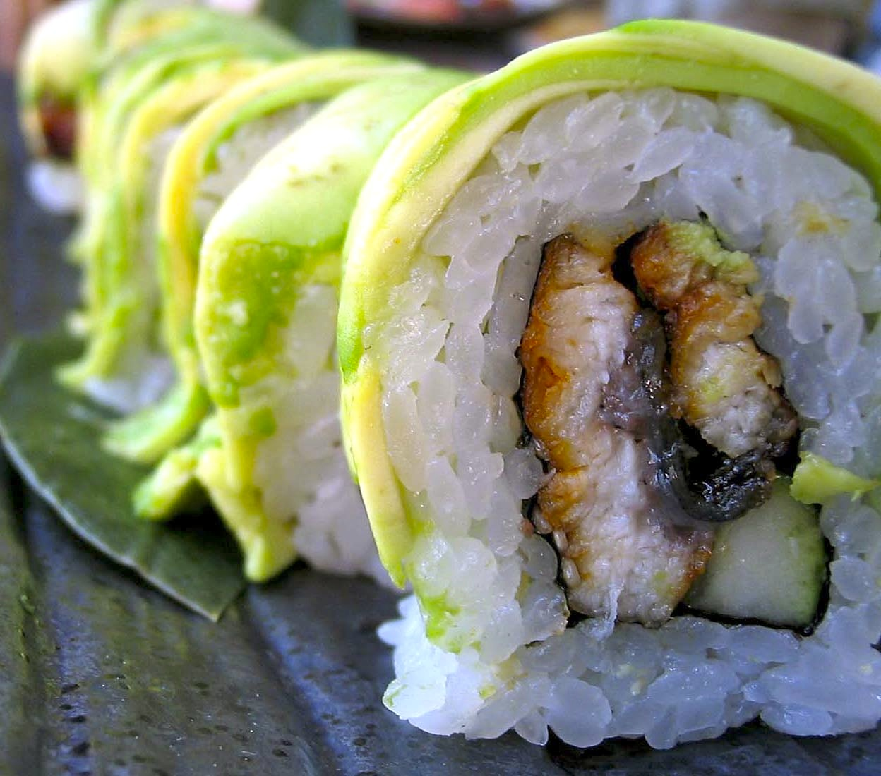 Sushi Den Food House Roll 027