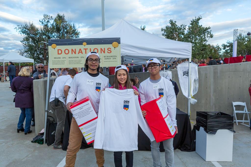 Den Corner Fundraiser shirts and hats
