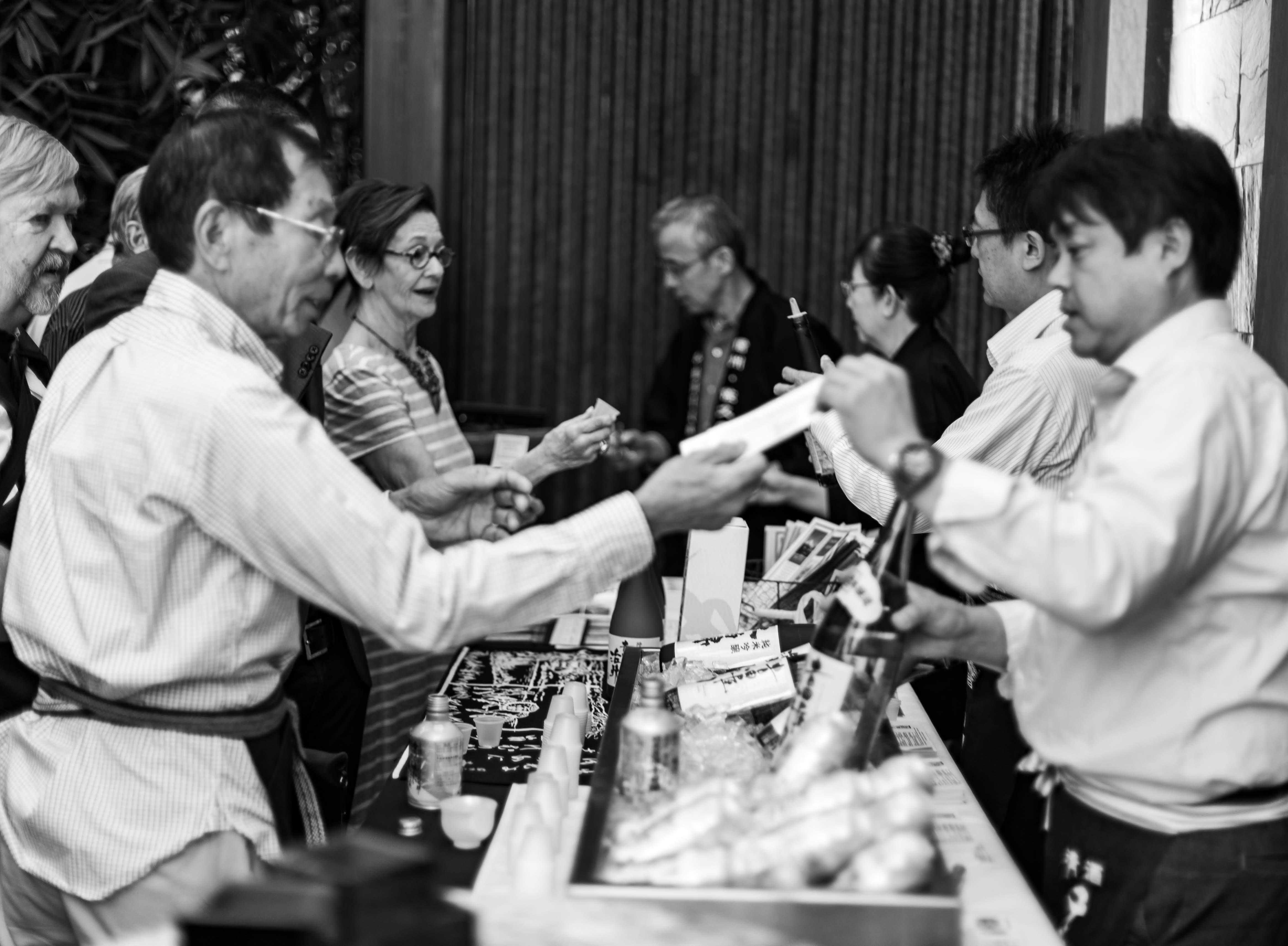 Sushi Den B&W-5669