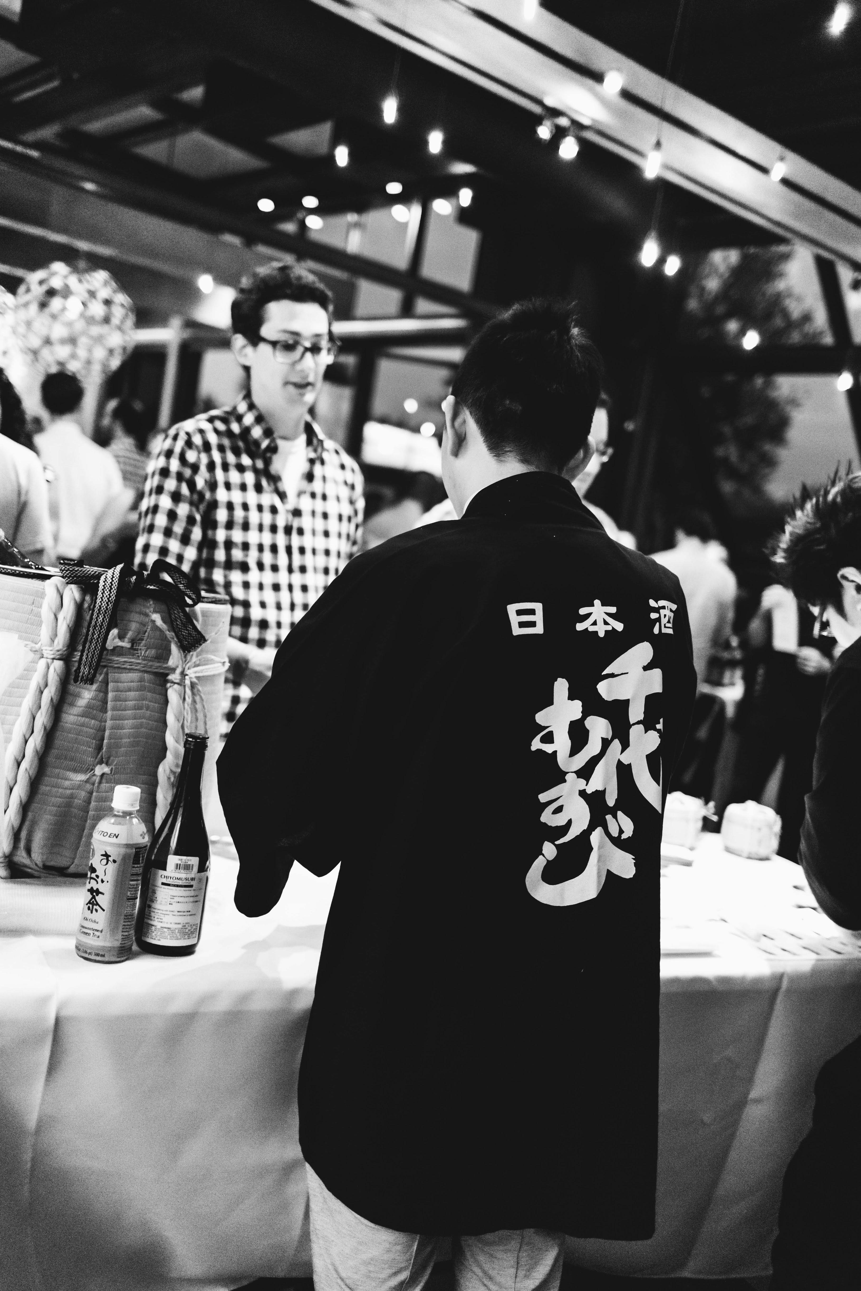 Sushi Den B&W-5938